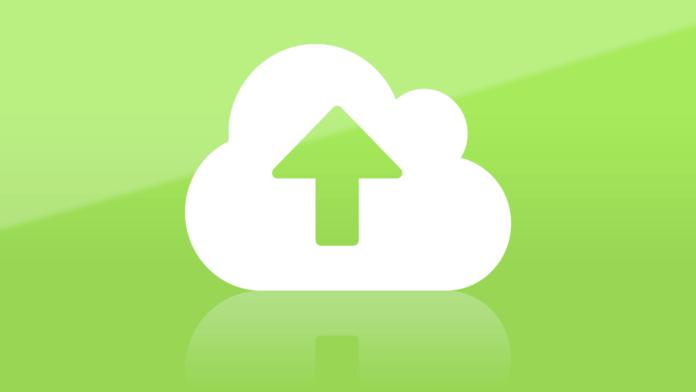 Skicka stora filer i molnet